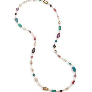 NWT Kendra Scott Joann Necklace Brass